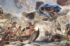 地獄・冥界のカロンとケルベロス