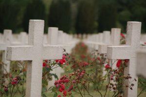 キリスト教の墓地