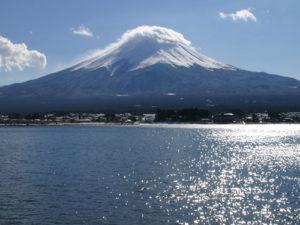 富士山のかさ雲