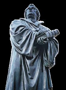 マルティン・ルターの像